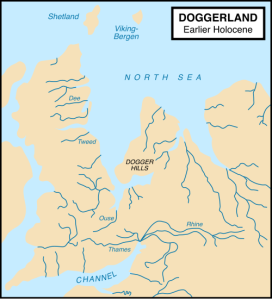 Doggerland circa 8000BC