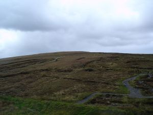 The Céide Fields in Co. Mayo, Eire