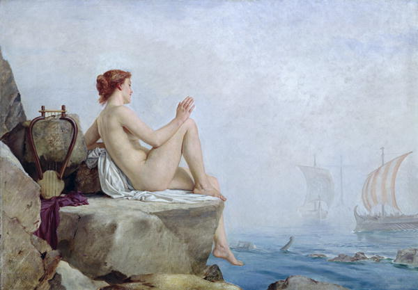 Themes of seduction and the sea are an ancient part of pagan metaphor