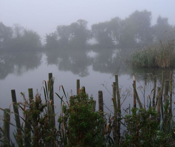Flag Fen, England - site of a timber trackway and platforms built over water during the Neolithic and Bronze Age, associated with ritual water deposits