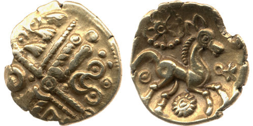 Trinovantes, Britain, 1stC BCE - what happened to Alexander's head?