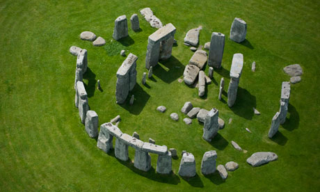 Stonehenge. Photograph: Jason Hawkes/Getty