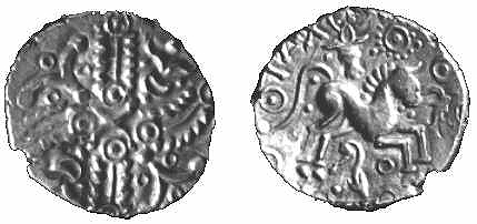Stater of Tasciovanus demonstrating Eleusinian symbolism -influenced by Augustus?