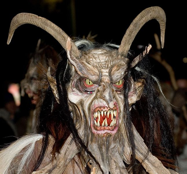 Krampus or Perchtemn?