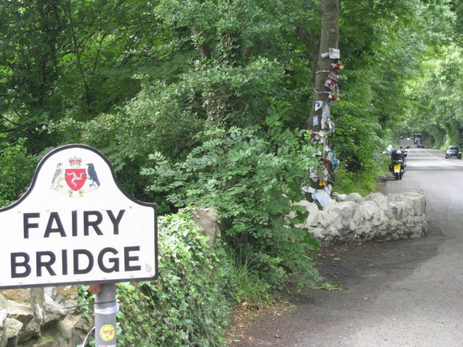 The Isle of Man's popular 'Fairy Bridge' - more than just a tourist destination.