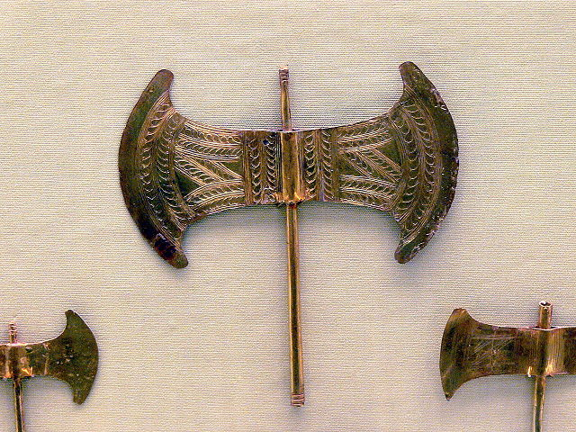 The ancient Minoan Labrys axe.